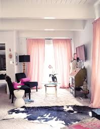 home office sitting area black white pink gold black and white office decor