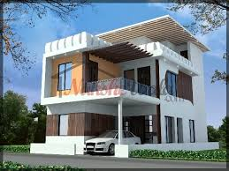 D Front Elevation Design  Indian Front Elevation  Kerala Style     Duplex House Design S jpg