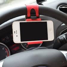 Mobile <b>Phone Holders Universal Car</b> Steering Wheel Bike Clip ...