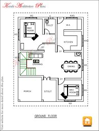 THREE BEDROOM HOUSE PLAN   ARCHITECTURE KERALATHREE BEDROOM HOUSE PLAN