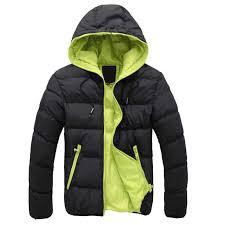 Black With Green <b>Winter</b> Autumn <b>Winter Men</b> Clothes 2019 <b>Men's</b> ...