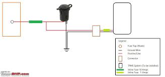 12v socket wiring diagram 12v image wiring diagram s cross diy tpms 12v socket installation team bhp on 12v socket wiring diagram