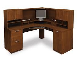 modern stylish l shaped desk amazing wood office desk corner