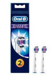 Купить Сменные <b>насадки для зубной щетки</b> Oral-B 3D White, 2 шт ...