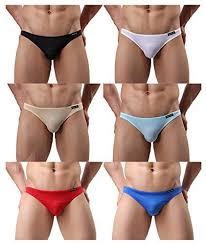 DomiGe <b>Mens</b> Low Rise <b>Sexy</b> Brief UnderwearRed PlaidLarge5219 ...