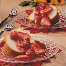 Image result for pound cake with fruit topping