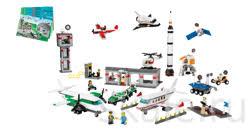 <b>Космос и аэропорт LEGO</b>-9335. Купить