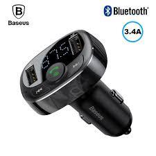<b>FM трансмиттер Baseus</b> S-09 2xUSB микрофон (аналог Roidmi ...