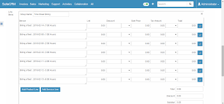 suitecrm timesheets invoicing suitecrm module generate an invoice