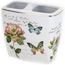 <b>Держатель зубных щеток Avanti</b> Butterfly Garden 13882B (арт ...