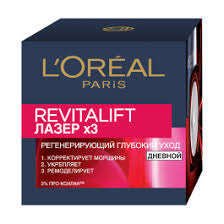 Крем для лица L'Oreal Ревиталифт Лазер Х3 <b>дневной</b> ...