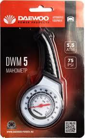 <b>Манометр аналоговый Daewoo</b> Power Products DWM 5 купить в ...