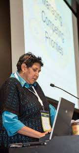 press releases qaihc queensland aboriginal islander health discussing community engagement clients and clinicians at the cqi workshop is cwaatsich ceo sheryl lawton ntently at the cqi workshop in brisbane