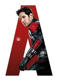 antman marvel movie poster paintings