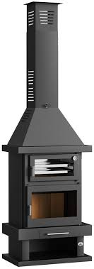 C-100 H Wood Burning Stove - The Barbecue Store in Spain