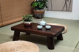 small japanese wood table traditional rectangle 6035cm paulownia asian antique furniture living room low cheap asian furniture