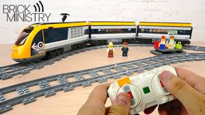 [Обзор] <b>LEGO</b> 60197 Пассажирский Поезд - YouTube