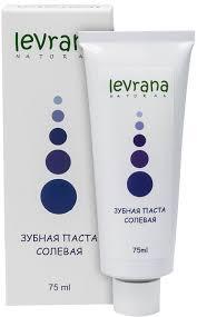 """Натуральная <b>зубная паста</b> """"Levrana Солевая"""" с <b>розовой</b> морской ..."""