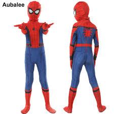 Online Shop New Kids Boys Spider-man Homecoming <b>Costume</b> ...