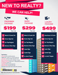 new realtor package thunderboltsign flyer · new realtor package