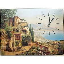 <b>Картина</b> Озеро <b>Михаил Москвин настенные часы</b> купить в ...