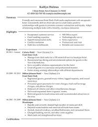 front desk clerk resume example   hotel  amp  hospitality sample    front desk clerk resume example   hotel  amp  hospitality sample resumes   livecareer