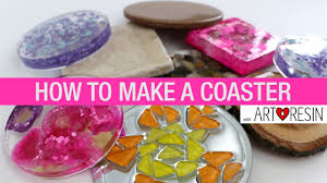 How To Make An Epoxy Resin <b>Coaster</b> - YouTube