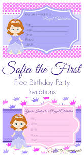 sofia the first birthday invites sofia the first birthday party invites princess birthday invitations sofia the first