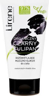 Lirene Organic Black Tulip Illuminating <b>Body</b> Milk <b>Elixir</b> - Молочко ...