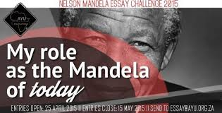 african youth union nelson mandela essay challenge usd  submission