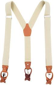 MENDENG <b>Men's Suspenders</b> Braces <b>Leather</b> Strap Father ...