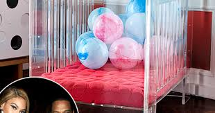 beyonce buys baby blue ivy carter a 3500 lucite crib us weekly beyonce baby nursery