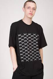 <b>Футболка CODERED T-Shirt</b> Crucci Pattern Черный купить в ...