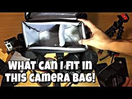Обзор фотосумки <b>Canon bag sb100</b> - YouTube