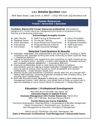 best human resources manager resume example com human resource professional resume sample