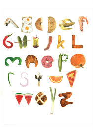 food letters food logo pictorial letters image letters eat food healthy food word text in capital letters
