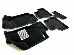 <b>Коврики салона</b> Euromat <b>3D</b> LUX <b>текстильные</b>, чёрные для Lada ...