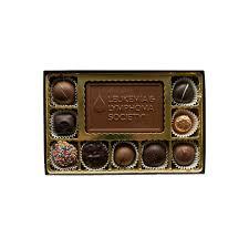 Small <b>Gift Box Set</b> with <b>Business</b> Card Logo - Aigner Chocolate