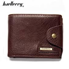<b>Baellerry Men Wallets</b> short Top PU Leather High Quality <b>Men Purse</b> ...