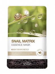 Scinic Snail Matrix Essense Mask <b>тканевая маска</b> с <b>муцином</b> улитки
