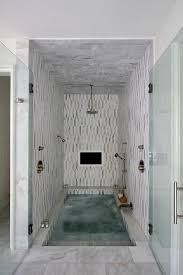 shower rain head spa stunning spa shower boasts white and gray marble tiles and ceiling fit