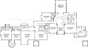 Abby Glen Castle House Plans   Home Plans By Archival DesignsAbby Glen Castle House Plan   Castle   First Floor Plan