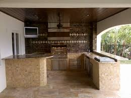 prefabricated outdoor kitchen exterior
