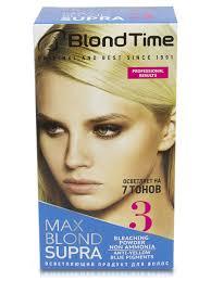 Супра MAX BLOND осветляющий продукт для <b>волос</b> №3 ...