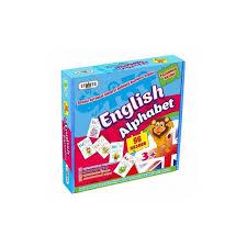 Купить книгу <b>English Alphabet</b>. <b>Пазл Strateg</b> 4820175991462 в ...