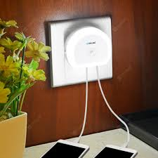 Brelong Creative Dual USB Charger / <b>Night Light</b> Sale, Price ...