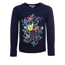 Купить <b>футболка</b> с длинным рукавом <b>Elaria</b> темно-синий р.116 ...