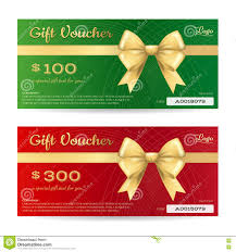 elegant christmas gift card or gift voucher template stock vector elegant christmas gift card or gift voucher template royalty stock photography