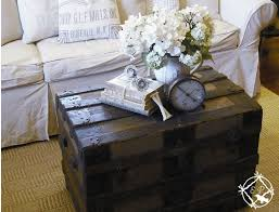 room vintage chest coffee table: diy love the idea antique victorian steamer trunk used as a coffee table amp