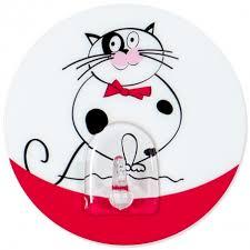 <b>Tatkraft Funny</b> Cats Baltasar <b>адгезивный крючок</b> сильной фиксации